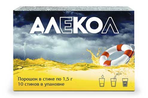 Алекол - препарат от похмелья